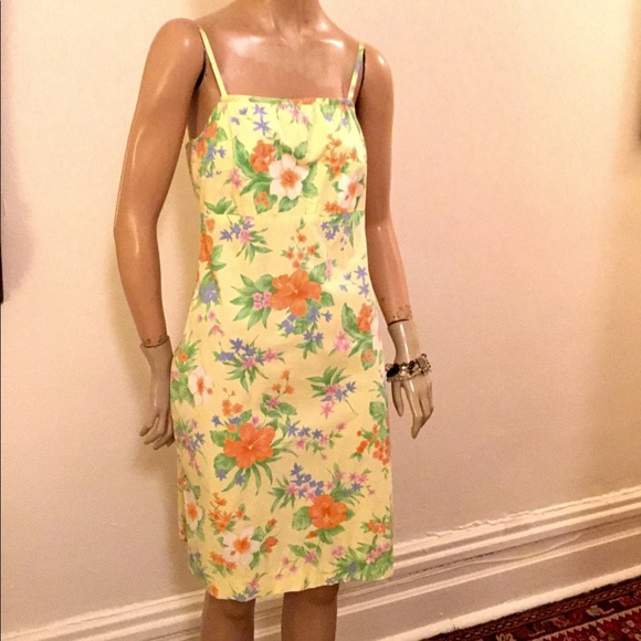 Lauren Ralph Lauren Women/'s Floral Cotton Sundress